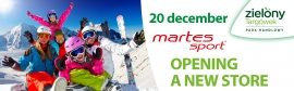 Martes Sport | Opennig new store from 20.12